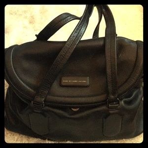 Marc by Marc Jacobs black leather handbag